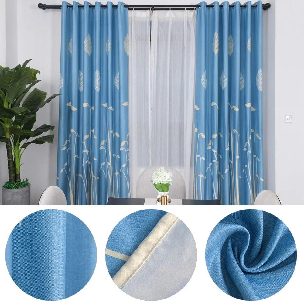 faginey rideau de fenetre occultant en polyester rideau occultant drape decor de salle de sejour rideaux de chambre a coucher rideaux de chambre a