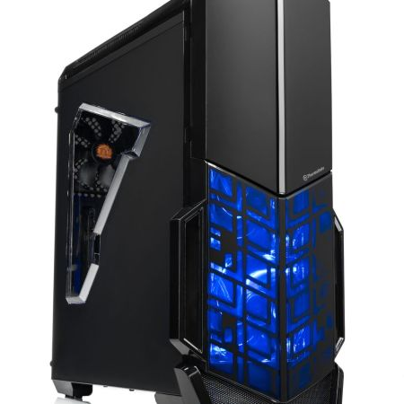 SkyTech Shadow Gaming Desktop AMD Ryzen 5 2600, NVIDIA GeForce GTX 1060 3G, 500GB SSD, 8GB DDR4, 500 Watt 80 Plus Power Supply, Windows 10 Home – VR Ready Gaming PC
