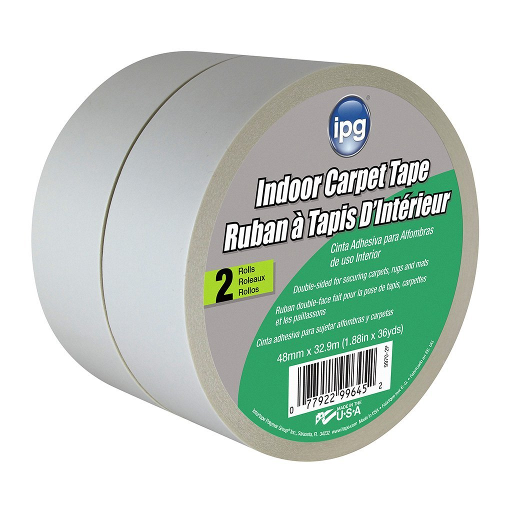 Intertape Polymer Group Intertape 9970 2P Indoor Carpet Tape  1 88     Intertape Polymer Group Intertape 9970 2P Indoor Carpet Tape  1 88 Inch x 36