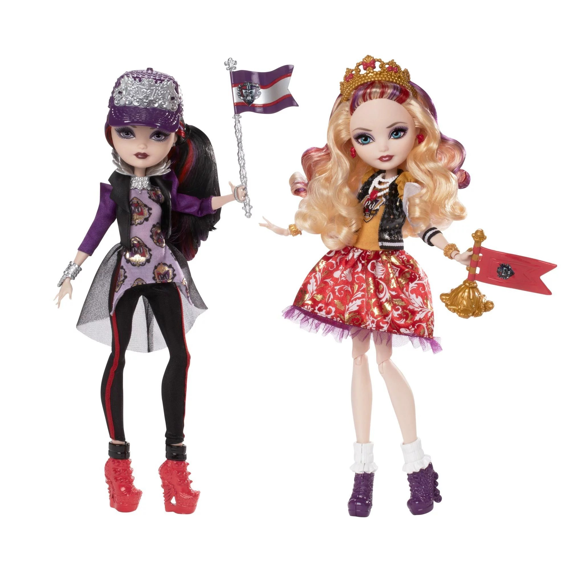 Ever After High School Spirit Doll 2 Pack