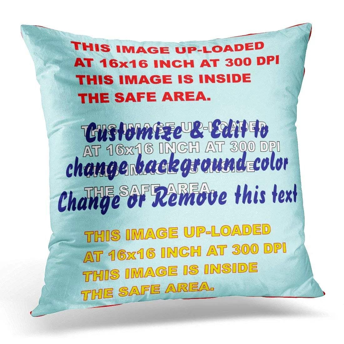 bpbop throw polyester pillowcase cover 16x16 inch walmart com