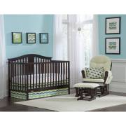 Graco Solano 4 In 1 Convertible Crib And Mattress Espresso Image Of 10