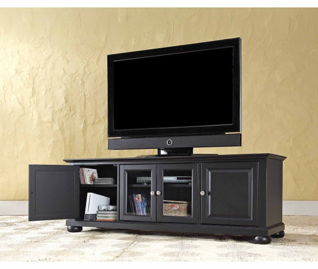 Crosley Furniture Alexandria Low Profile Tv Stand For Tvs Up To 60 Walmart Com