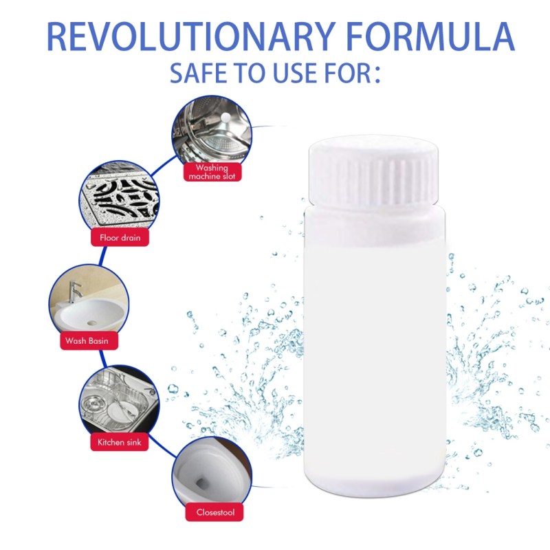 powerful sink and drain cleaner chemical powder agent for kitchen toilet pipe sewer dredging 110g