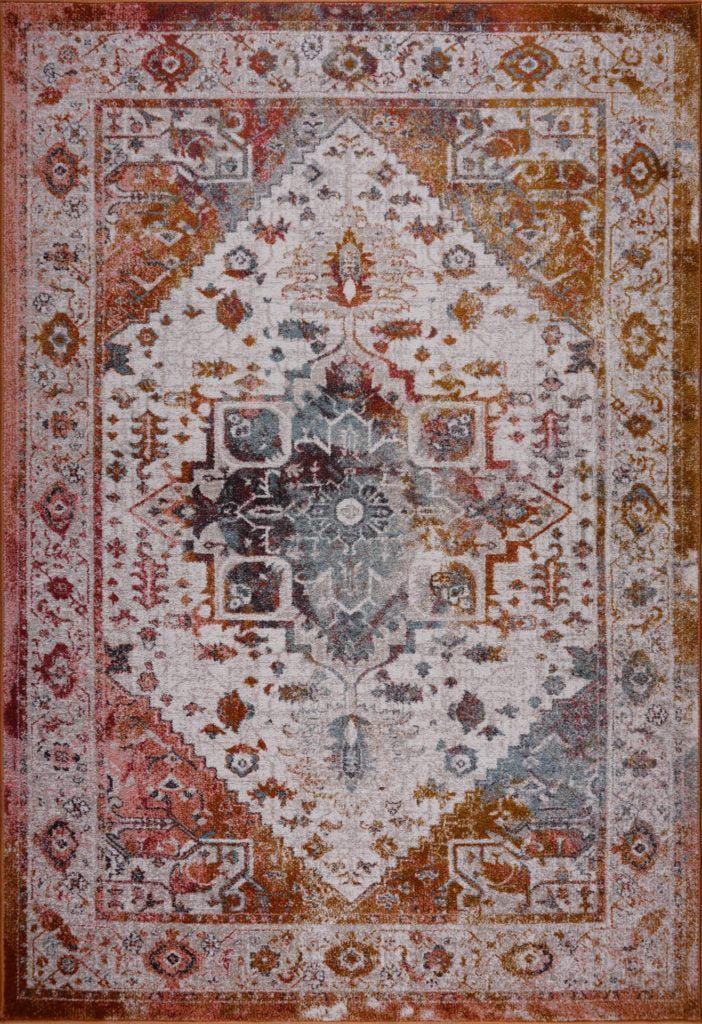 ladole rugs modena traditional design turkish machine made beautiful indoor big runner rug carpet tapis in brown cream