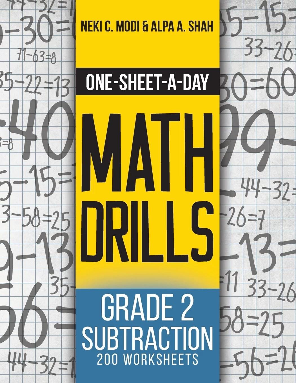 One Sheet A Day Math Drills One Sheet A Day Math Drills