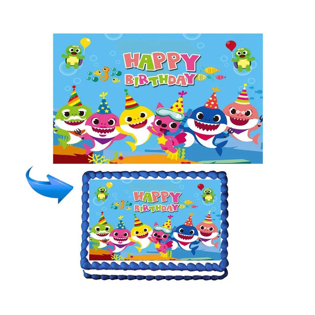 baby shark party supplies walmart com