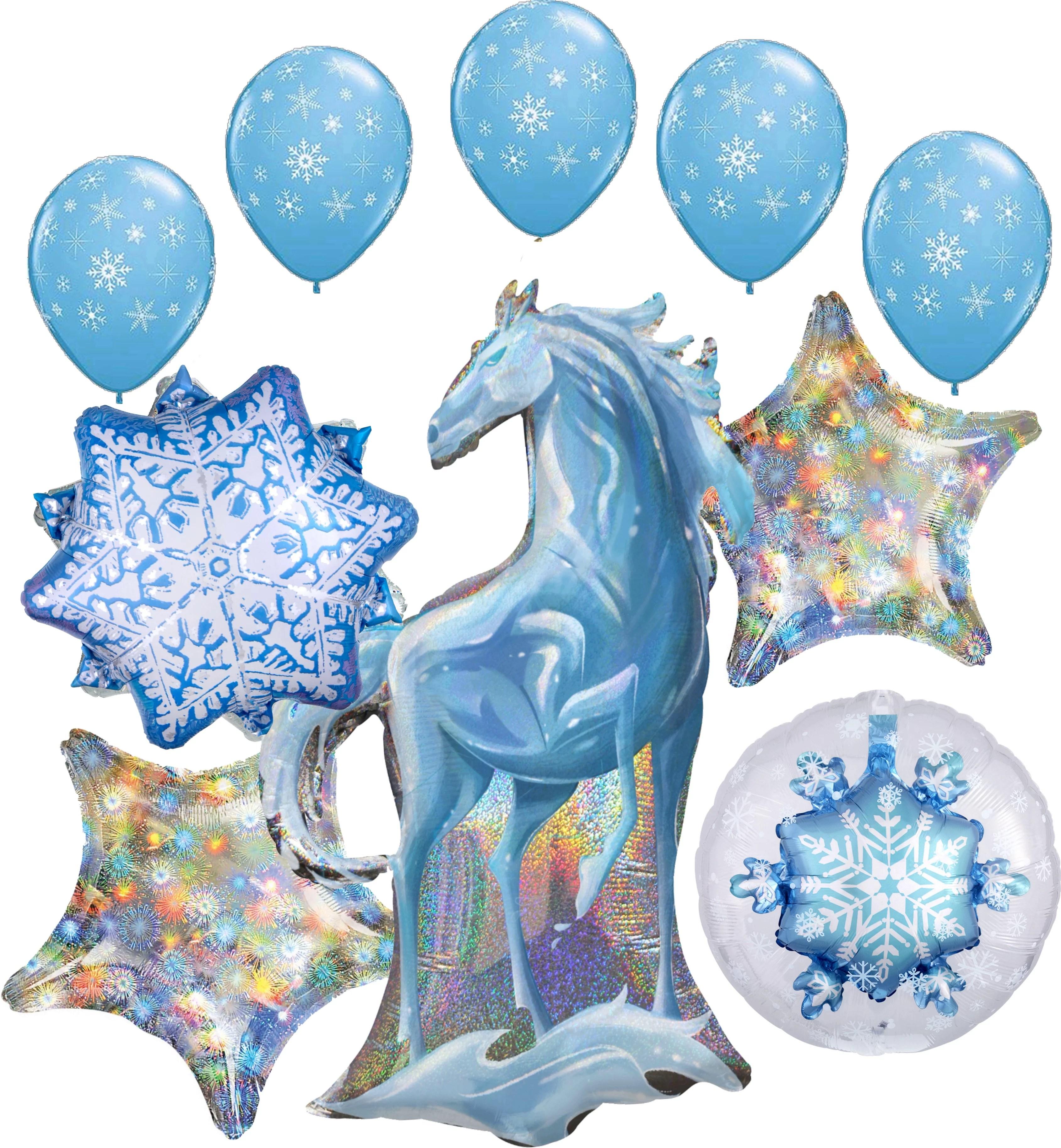 Frozen 2 Party Supplies Nokk The Water Spirit Balloon Bouquet Decorations Walmart Com Walmart Com