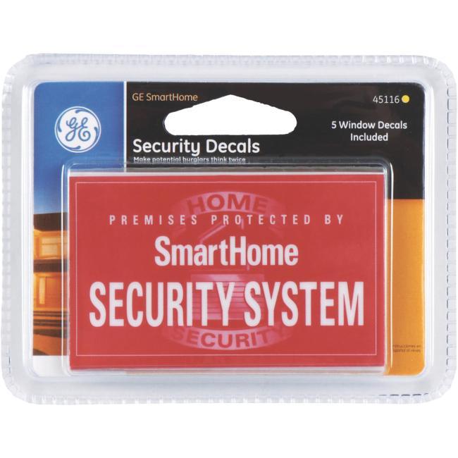 Security Window Sticker