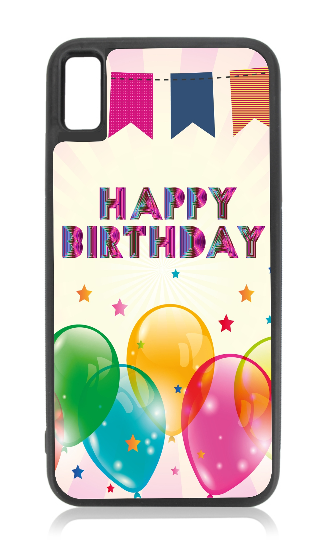 Happy Birthday Balloons Design Compatible With Iphone 11 Case Black Tpu Walmart Com Walmart Com