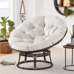 Better Homes Gardens Papasan Chair With Fabric Cushion Pumice Gray Walmart Com Walmart Com