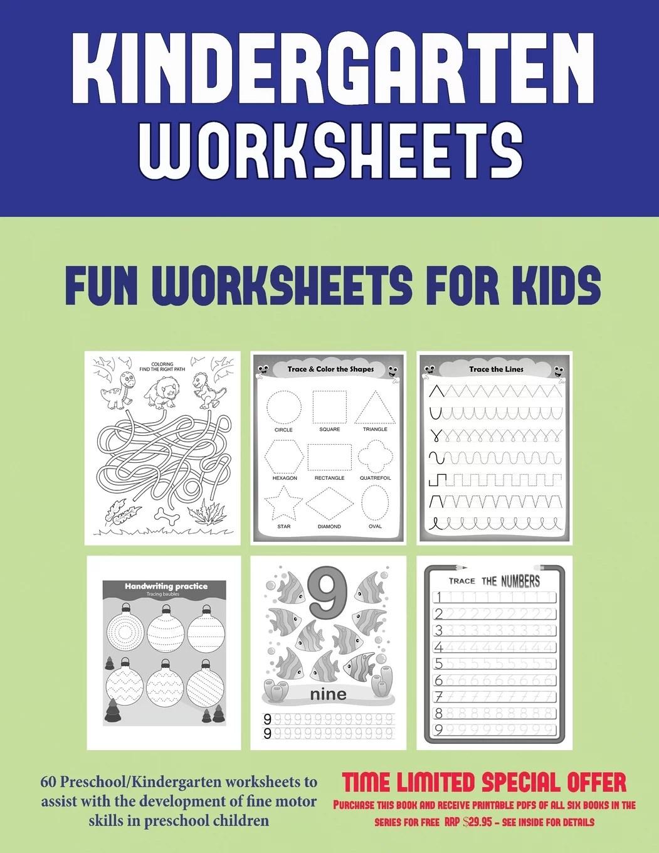 Kindergarten Worksheets Kindergarten Worksheets 60