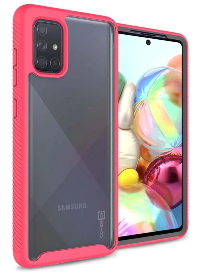 Coveron Samsung Galaxy A51 5g Case Heavy Duty Full Body Slim Fit Shockproof Clear Phone Cover Eos Series Walmart Com Walmart Com