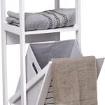 Tilt Out Laundry Linen Hamper Cabinet Walmart Com Walmart Com