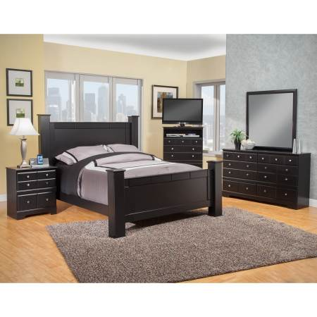 sandberg furniture elena bedroom set - walmart