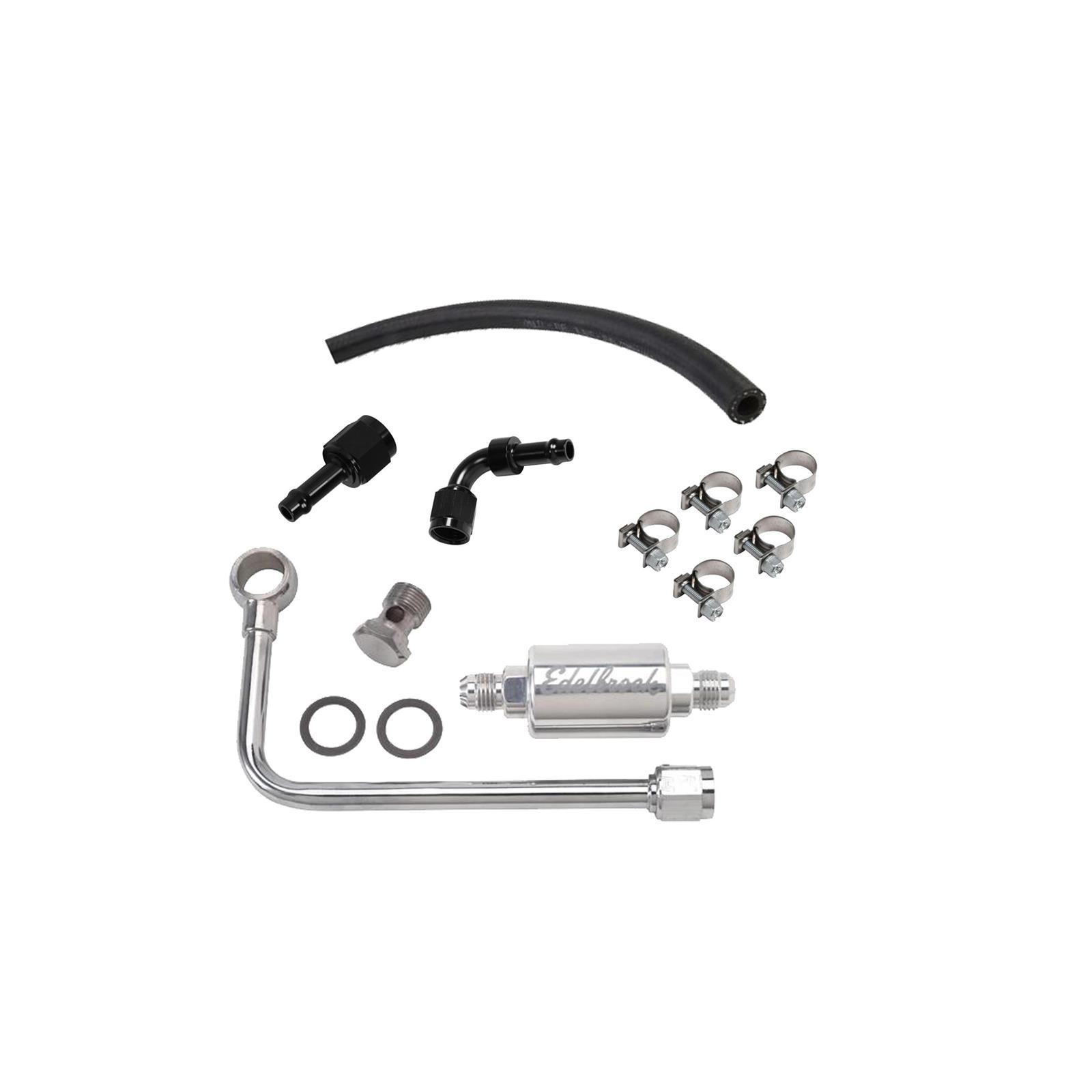 Speedway Motors In Line Fuel Filter Installation Kit