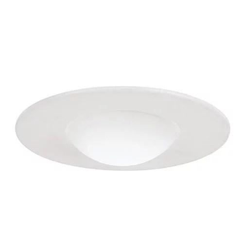 sea gull lighting 11092at 15 4 inch shower recessed light trim white