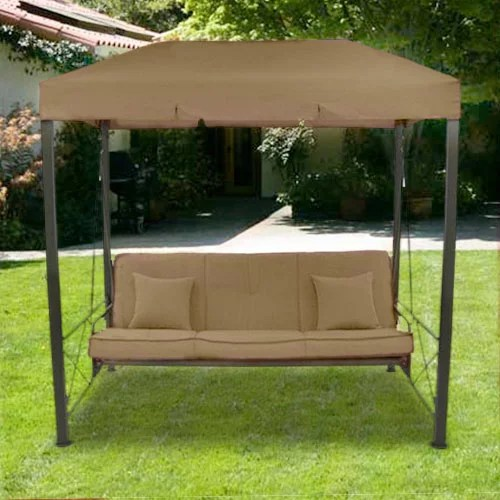 garden winds replacement canopy top for target s outdoor patio swing replacement canopy top only metal frame not included