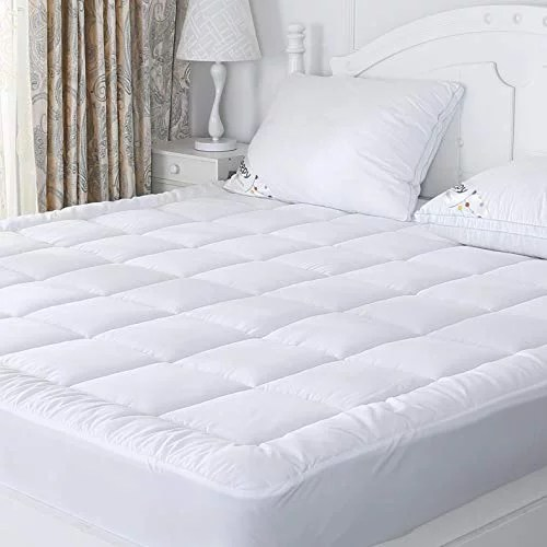 sufuee queen mattress pad cover fitted down alternative quilted pillow top mattress topper all seaons hotel quality mattress cover
