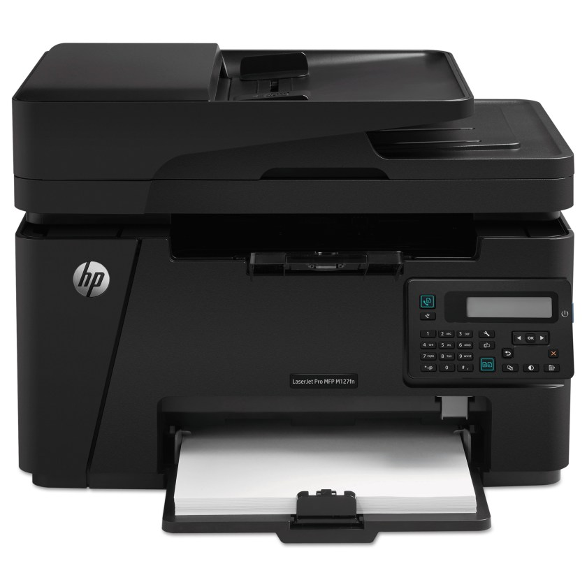 Hp Laserjet Pro Mfp M127fn Multifunction Laser Printer Copy Fax Print Scan Walmart