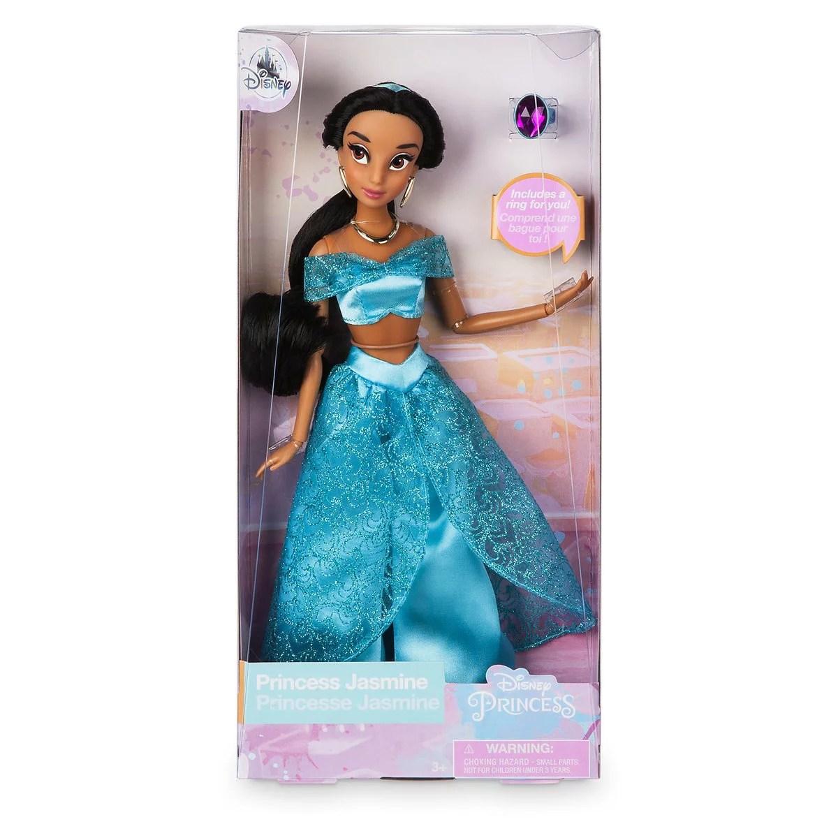 Disney Princess Jasmine Classic Doll With Ring New With Box Walmart Com Walmart Com