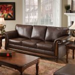Simmons San Diego Coffee Leather Sofa Walmart Com Walmart Com