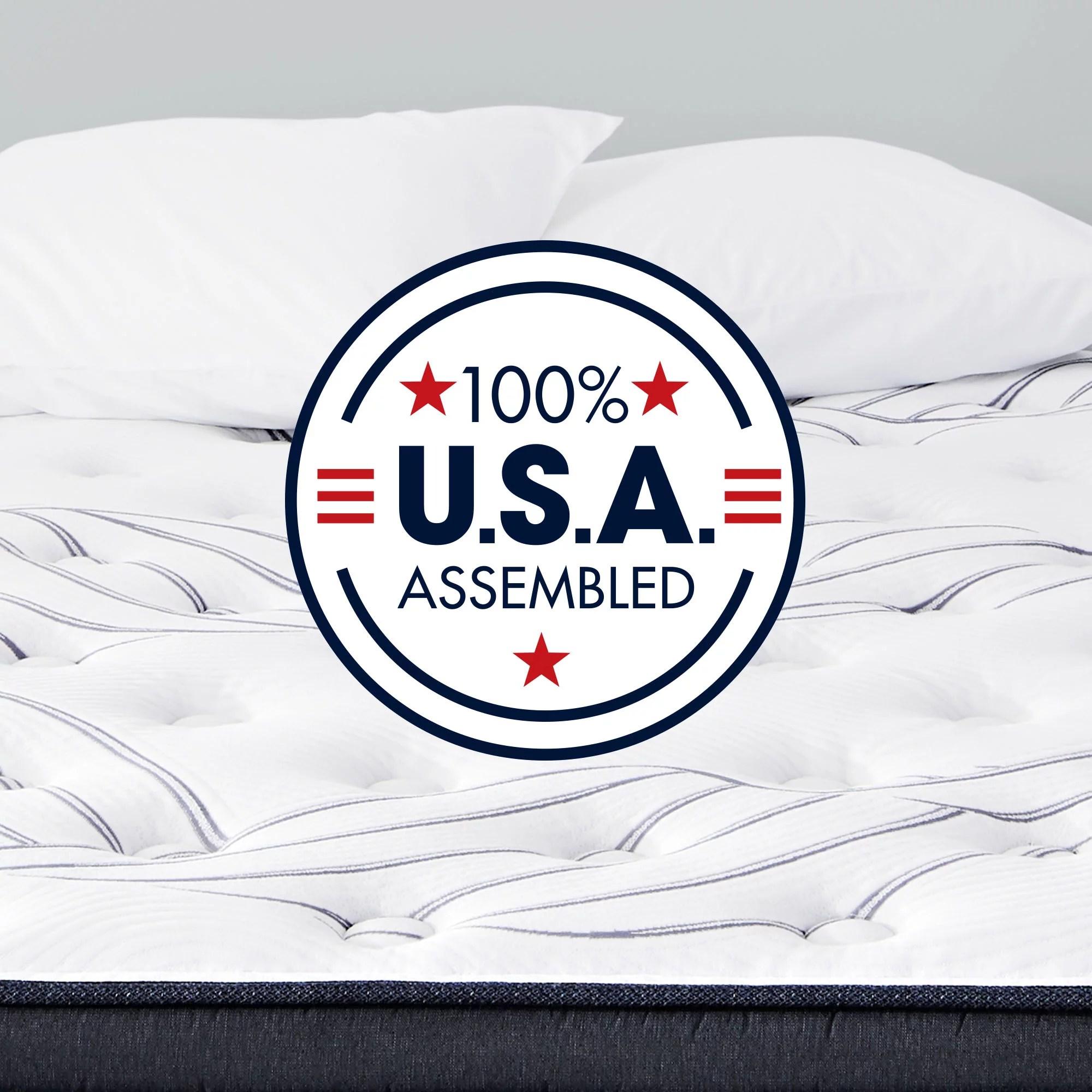 serta perfect sleeper kleinmon ii plush king mattress set
