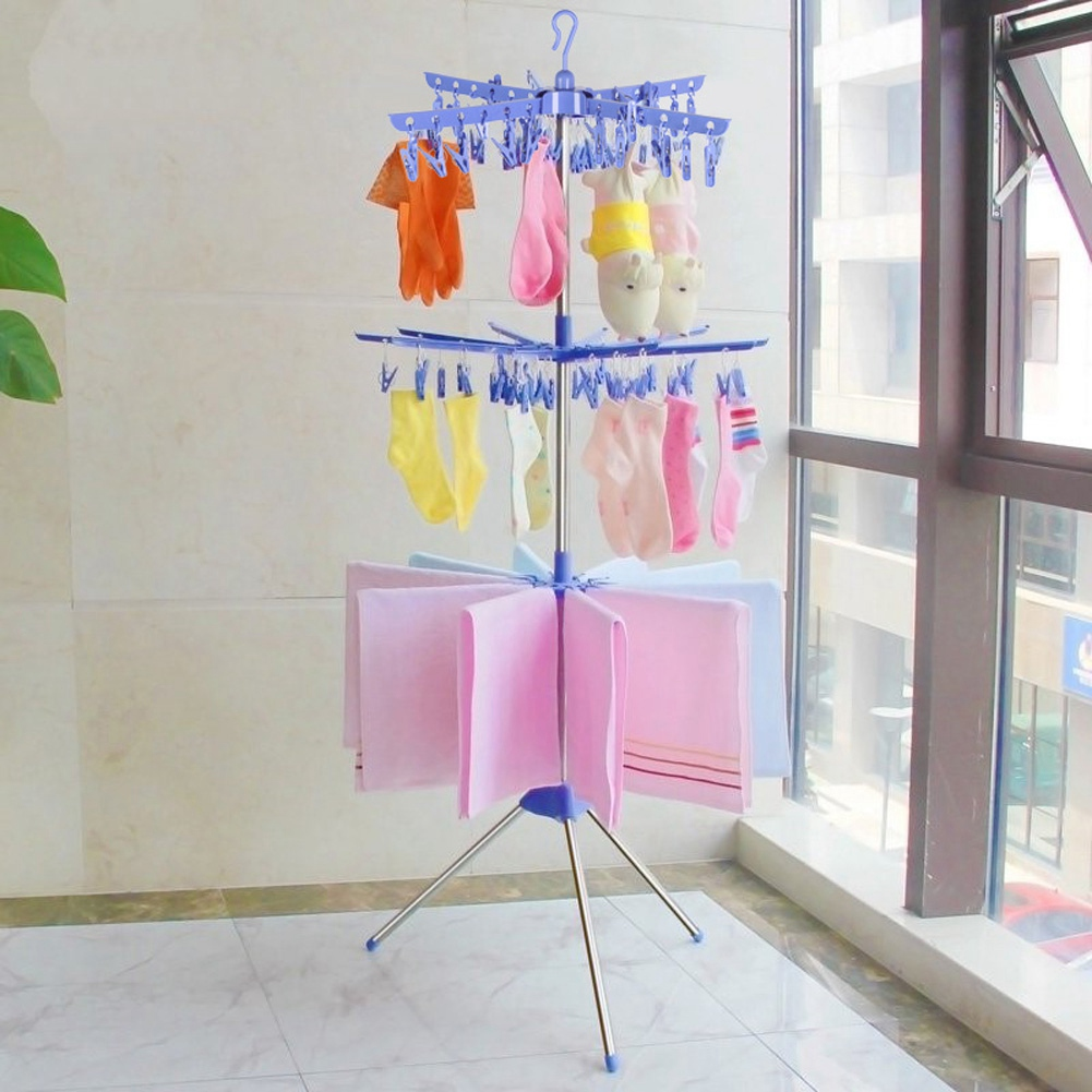 rdeghly 3 tier collapsible drying rack