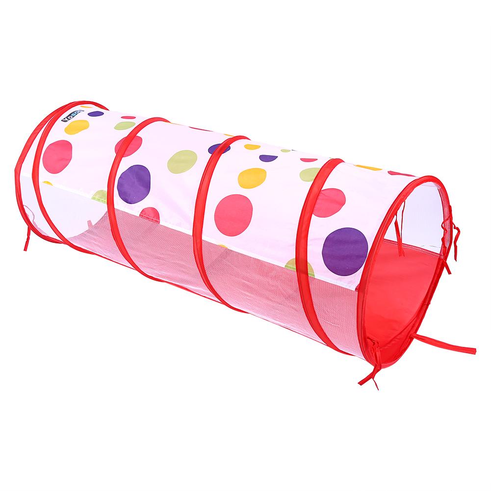 hurrise 3pcs ensemble enfants bebe maison de jeu tente tunnel piscine a balles pop up enfants jouets de plein air en plein air bebe maison tente
