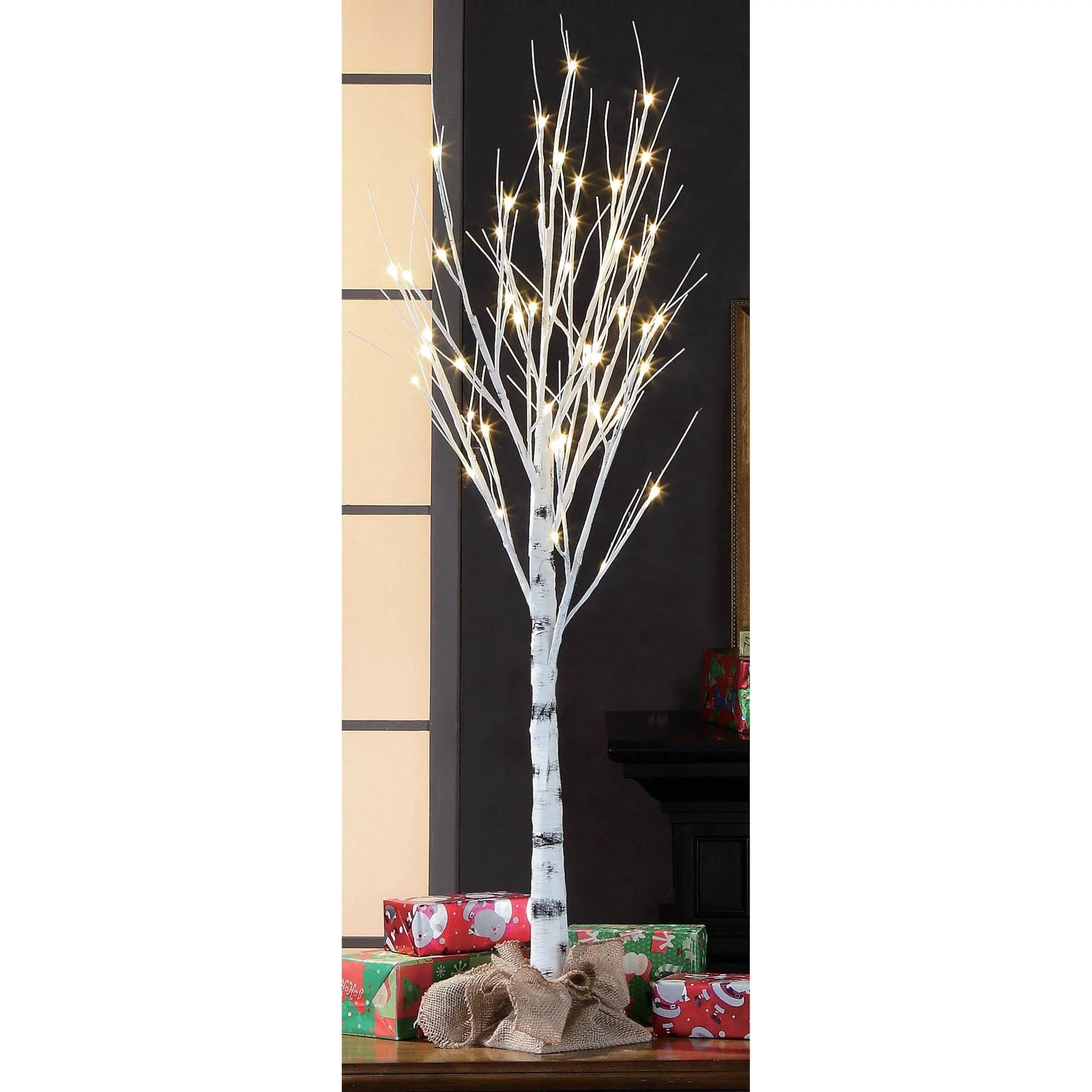 Holiday Time 4ft Birch Stick Tree Walmart Com