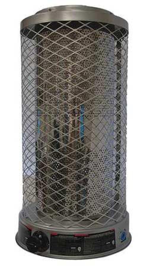 dayton 1wvl8 radiant portable gas heater natural gas 50 70 100 000 btuh walmart com