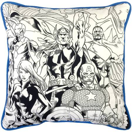 Avengers Stand Strong Color Me Pillow