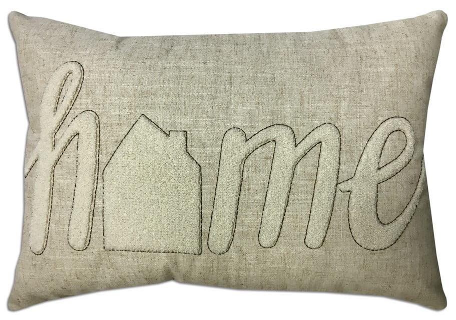 better homes gardens home oblong pillow 14 x 20 oblong 1 piece beige