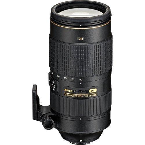 Nikon AF-S FX NIKKOR 80-400mm f.4.5-5.6G ED Vibration Reduction Zoom Lens with Auto Focus for Nikon DSLR Cameras International Version (No warranty)