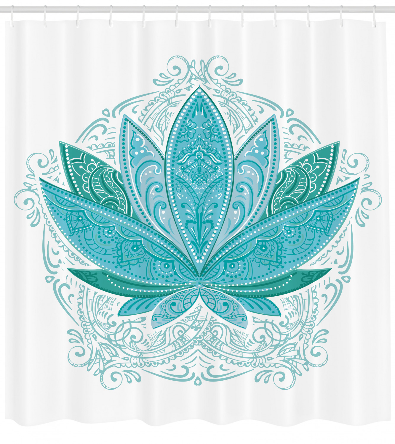 green yellow ambesonne teal decor