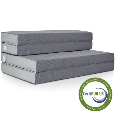 Best Choice Products 4 Folding Portable Mattress Queen
