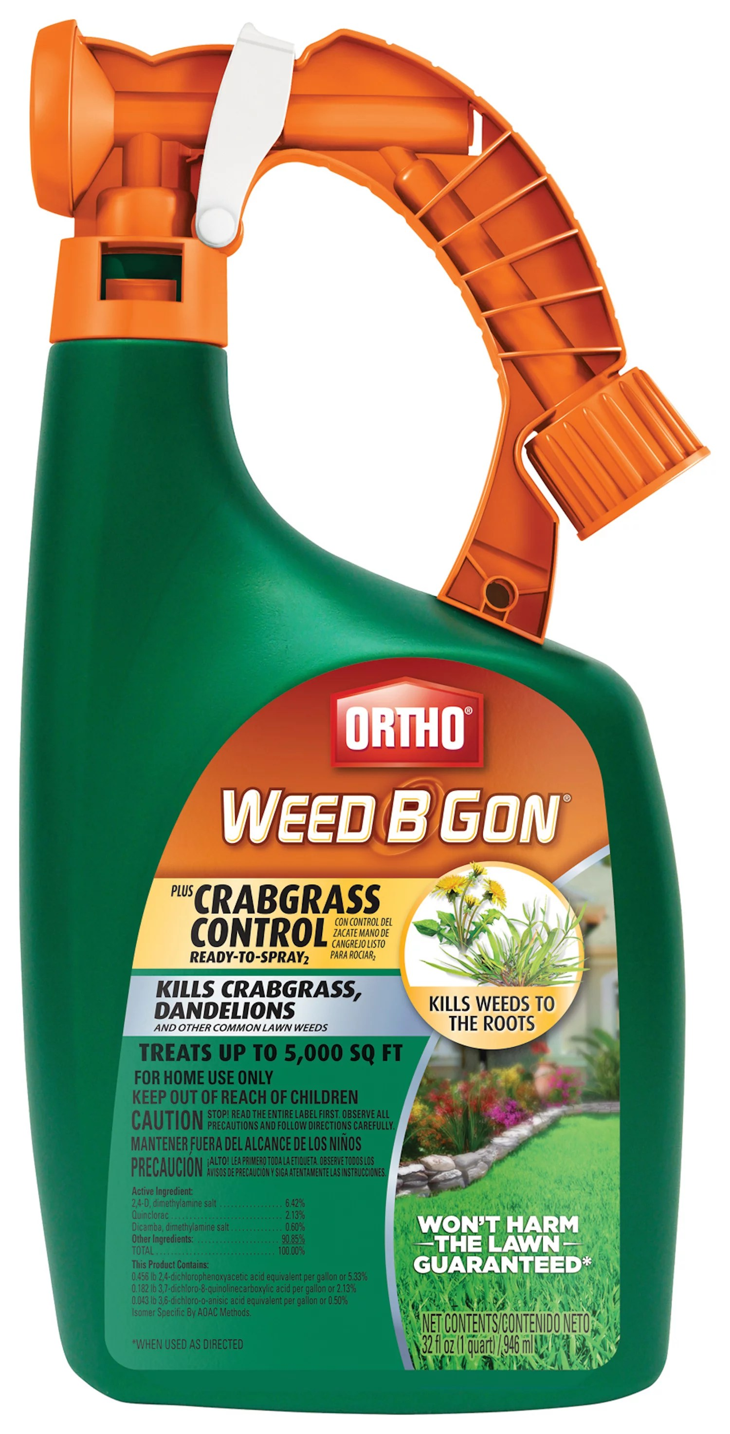 Ortho Weed B Gon Plus Crabgrass Control Ready-To-Spray2, 32 oz.