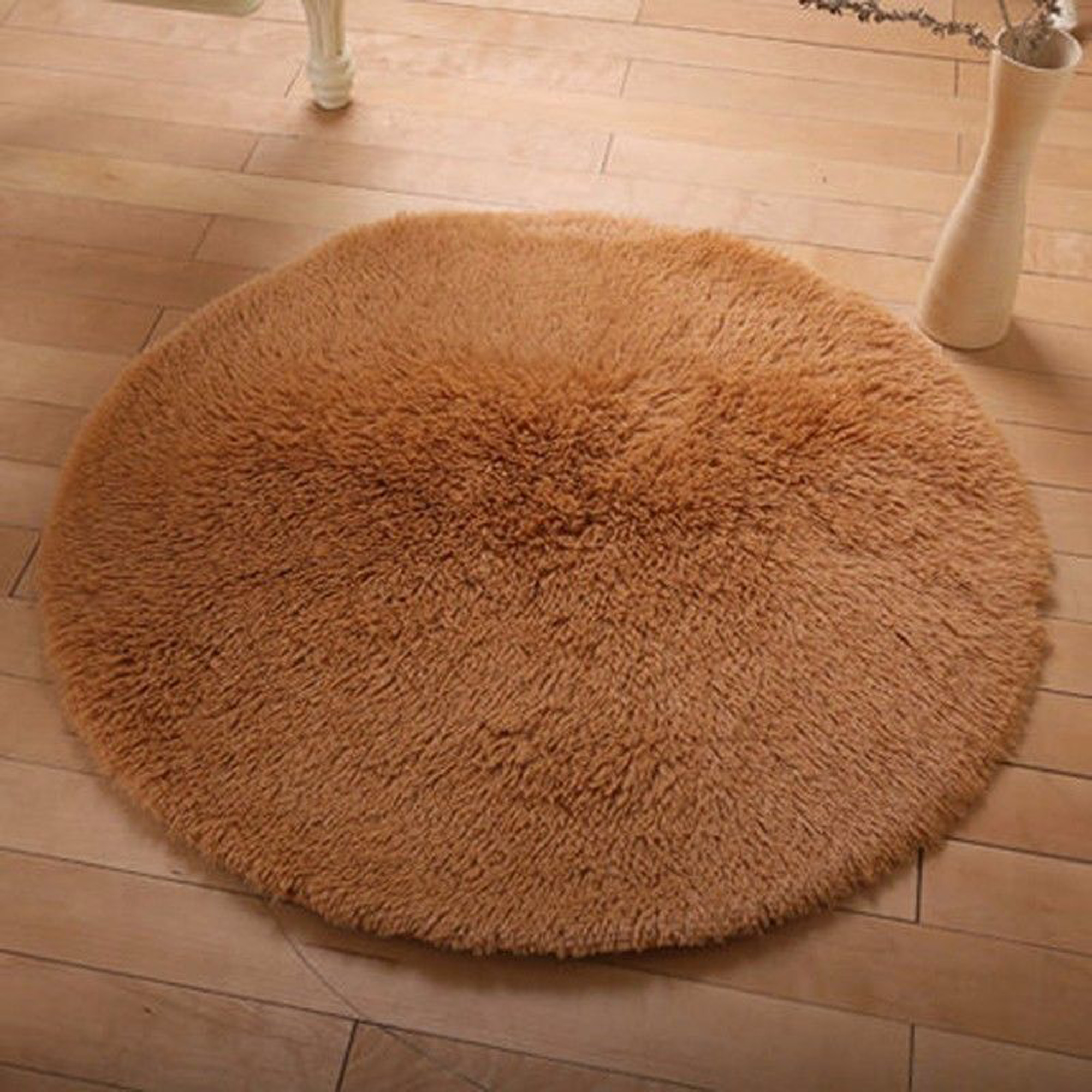 Nk Home Luxury Round Area Rugs Super Soft Living Room