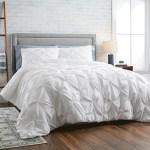Better Homes Gardens White Pintuck 3 Piece Comforter Set Full Queen Walmart Com Walmart Com