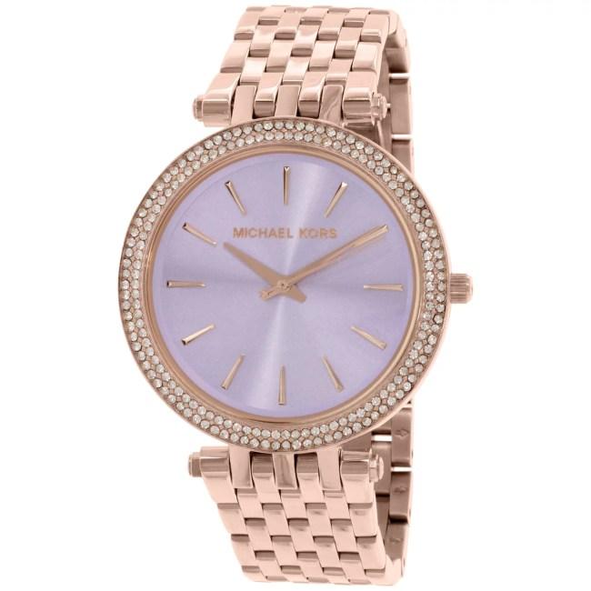 Michael Kors Women's Darci MK3400 Rose Gold Stainless-Steel Quartz Fashion Watch