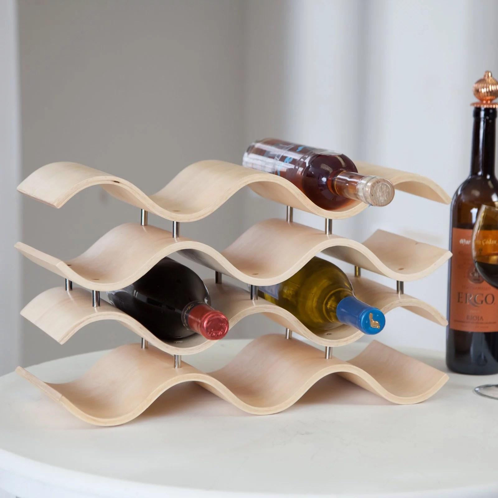 oenophilia bali 10 bottle wine rack