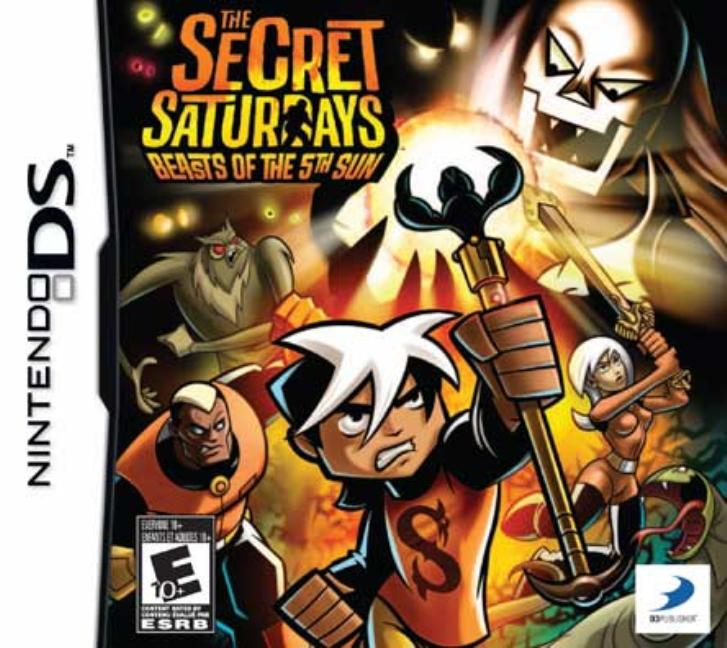 Secret Saturdays: Beasts Of The 5th Sun, D3 Publisher of America, NintendoDS, 879278320147