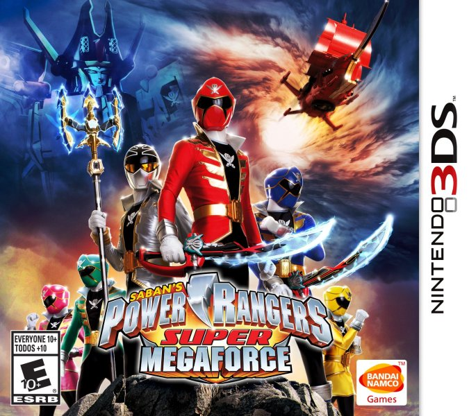 Power Rangers Super MegaForce  Nintendo 3DS    Walmart com
