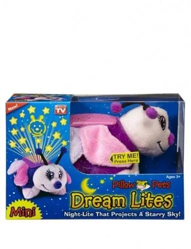 pillow pets dream lites mini fluttery butterfly