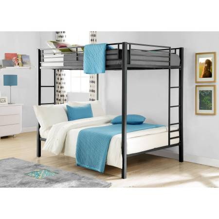 Dorel Full Over Metal Bunk Bed Multiple Finishes