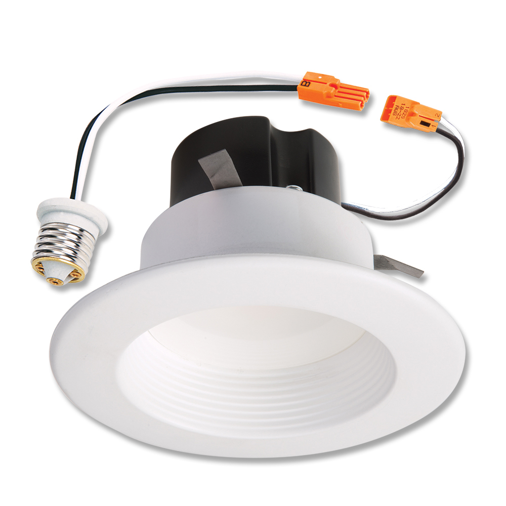 halo recessed lighting rl460wh940 4 4000k white led baffle trim module