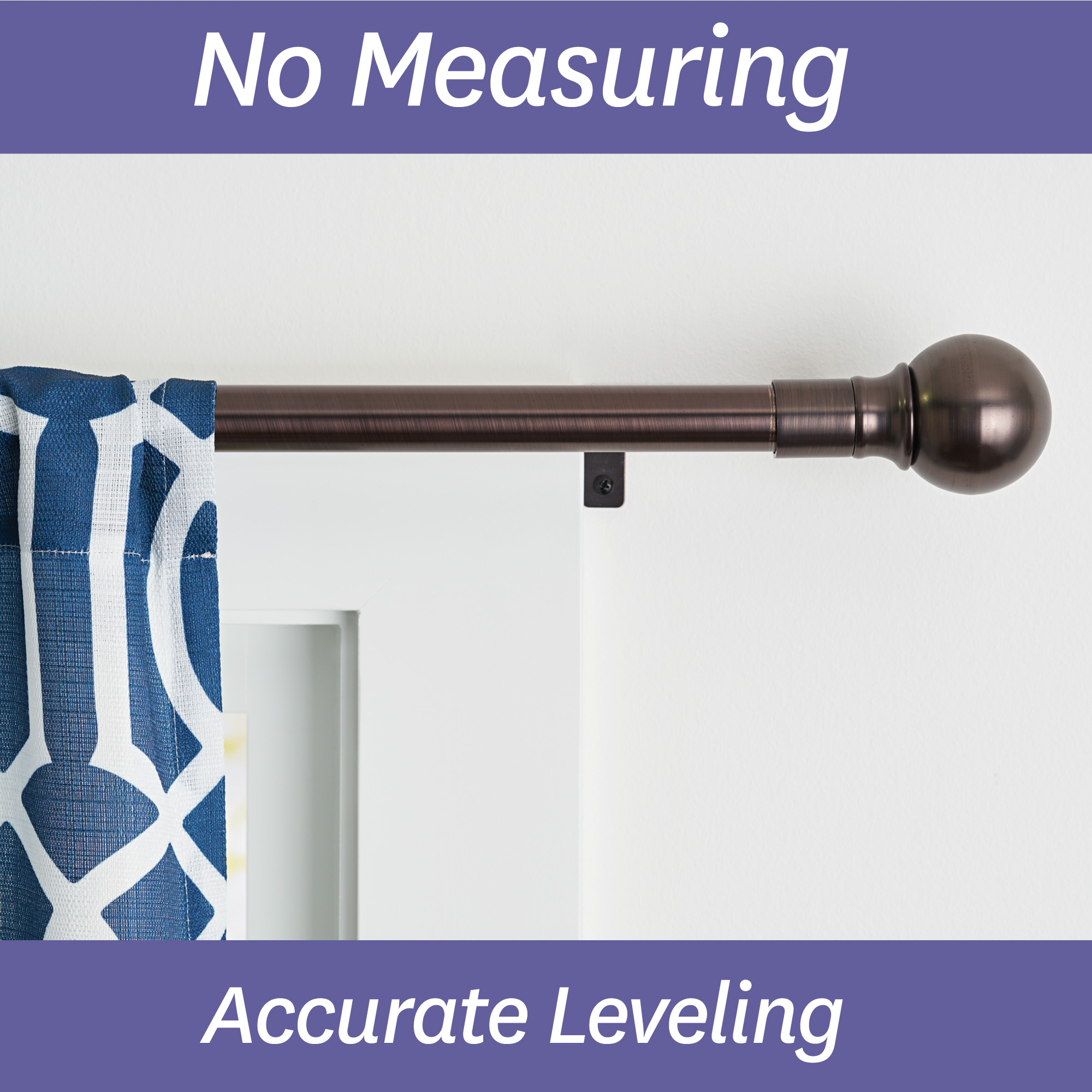 better homes gardens adjustable single curtain rod 42 120 oil rubbed bronze