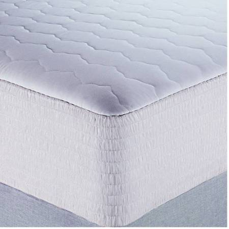 Mainstays Microfiber Waterproof Mattress Pad In Multiple Sizes