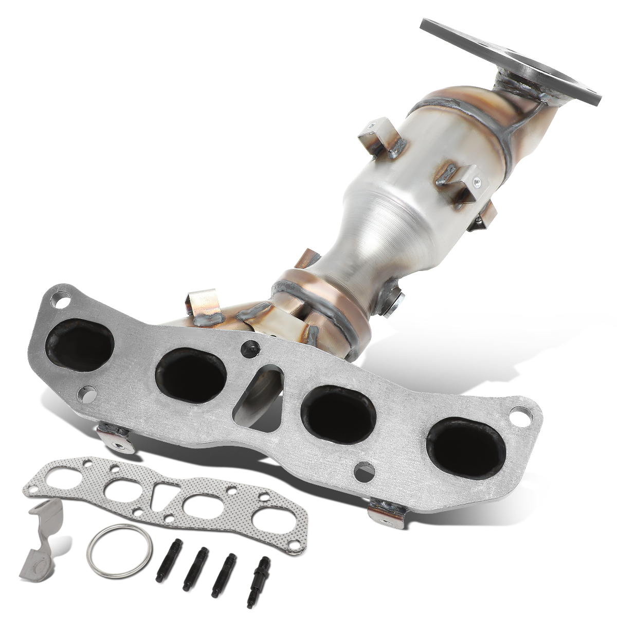 for 2007 to 2012 nissan altima 2 5l engine performance catalytic converter exhaust manifold replacement 08 09 10 11 walmart com