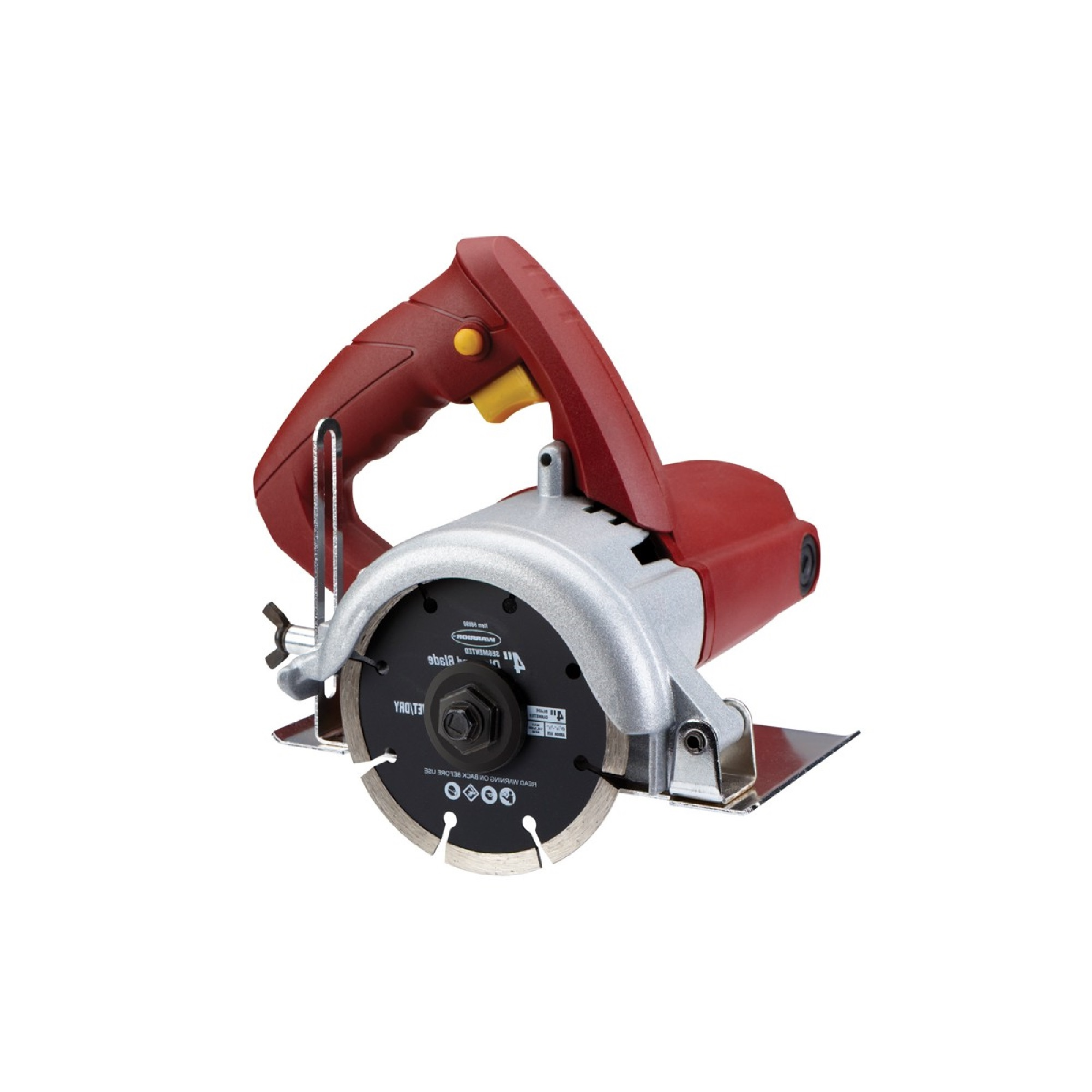 4 in handheld dry cut tile saw compact